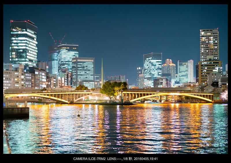 大阪・天満橋の桜夜景_11.jpg