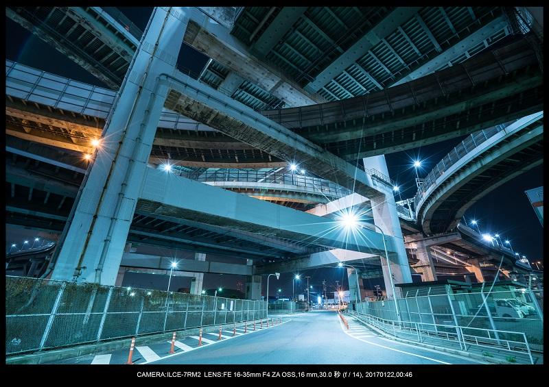 大阪北港ジャンクション夜景3.jpg