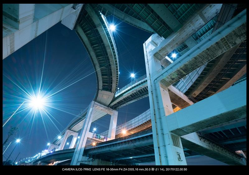 大阪北港ジャンクション夜景4-1.jpg