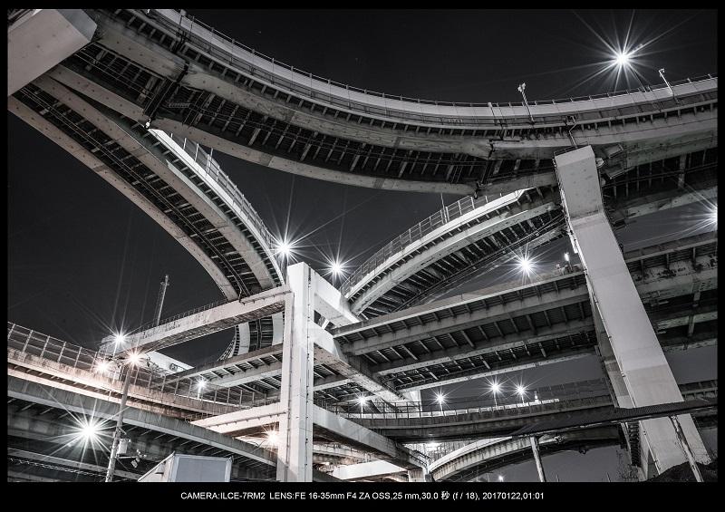 大阪北港ジャンクション夜景6.jpg