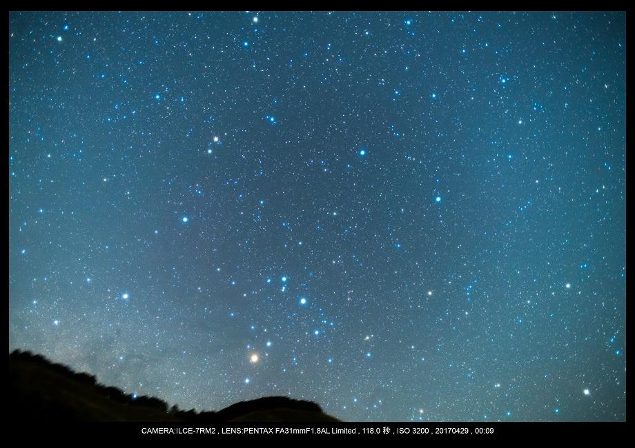 奈良の曽爾高原で天の川な星景を赤道儀ポラリエで3.jpg