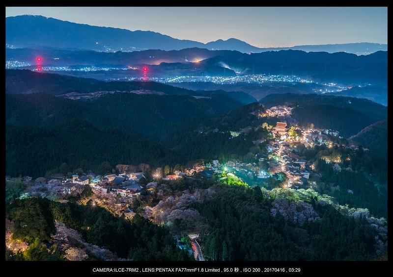 奈良の絶景風景・吉野山の桜見頃満開(下千本・中千本・上千本)旅行記画像2.jpg