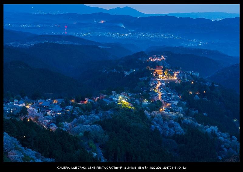 奈良の絶景風景・吉野山の桜見頃満開(下千本・中千本・上千本)旅行記画像3.jpg