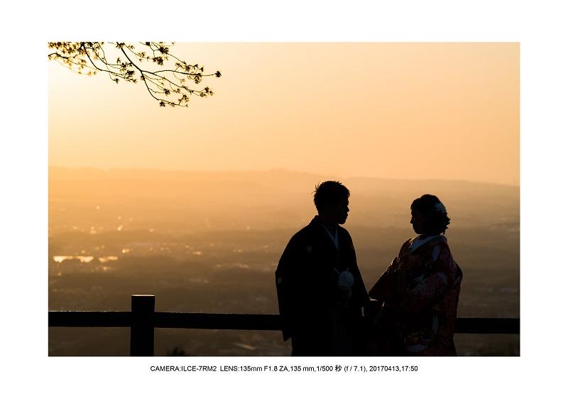 奈良絶景・若草山で鹿のシルエットと夕日夕陽3.jpg