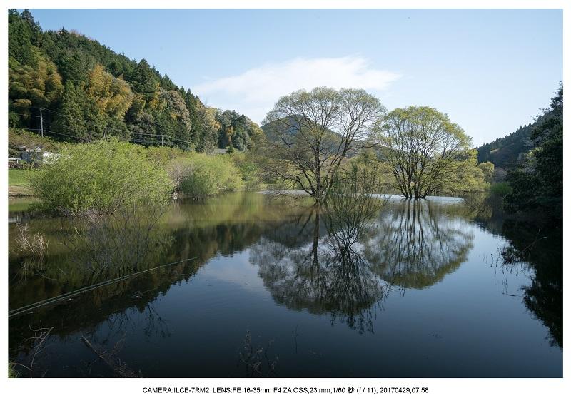 新緑の奈良・室生湖の鏡面シンメトリー33.jpg