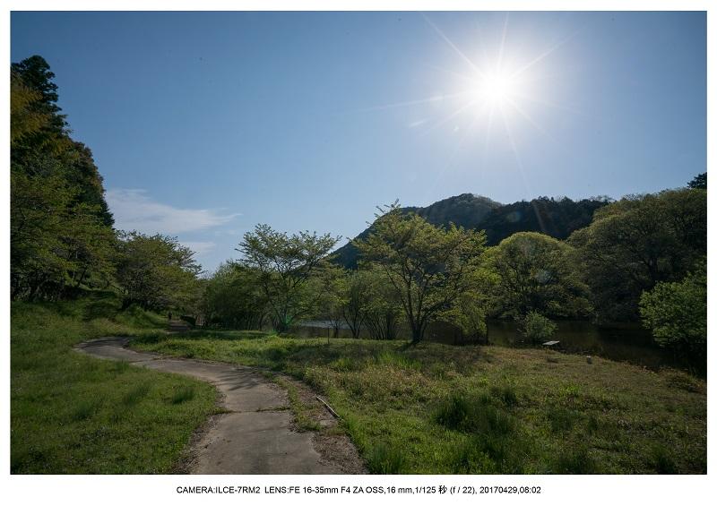新緑の奈良・室生湖の鏡面シンメトリー34.jpg