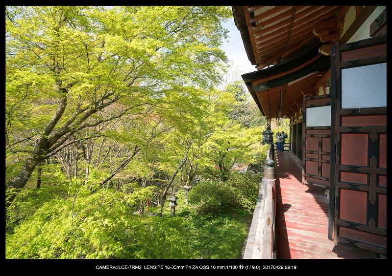 新緑の談山神社十三重の塔12.jpg