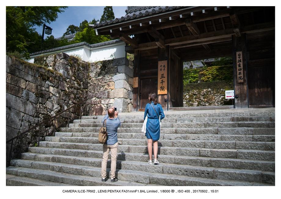 絶景京都・春の新緑青もみじの京都大原三千院画像5月0.jpg