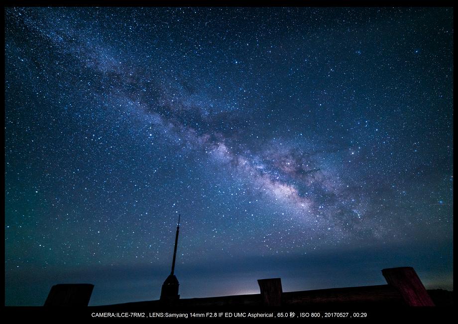関西の星景スポット大台ケ原で星の風景撮影で天の川2.png