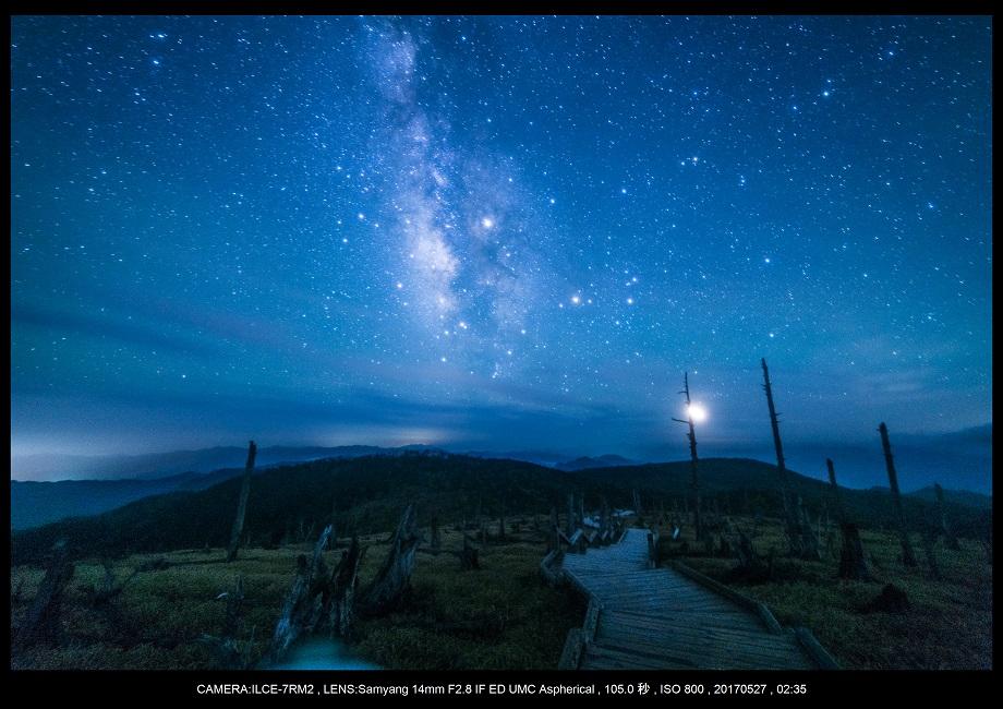 関西の星景スポット大台ケ原で星の風景撮影で天の川8-3.jpg