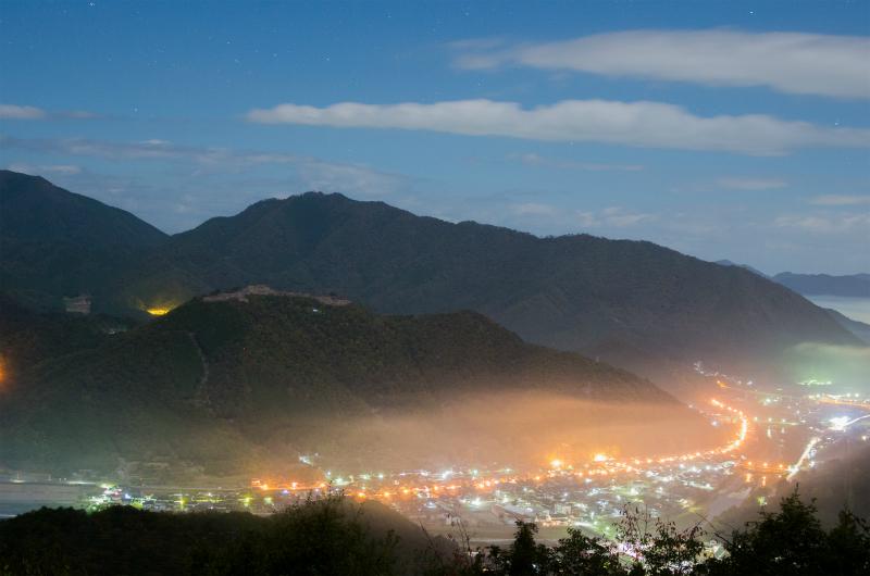 関西兵庫絶景雲海の竹田城夜景朝景2.jpg