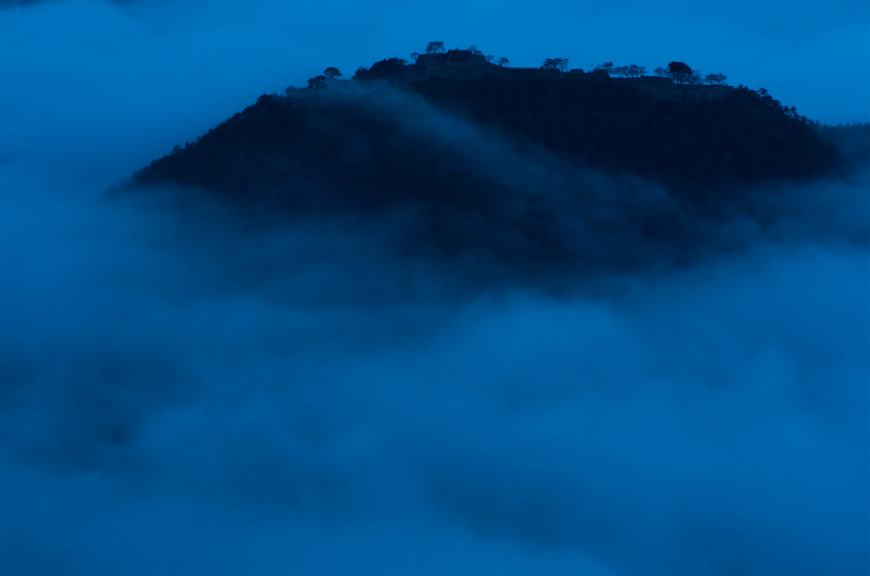 関西兵庫絶景雲海の竹田城夜景朝景23.jpg